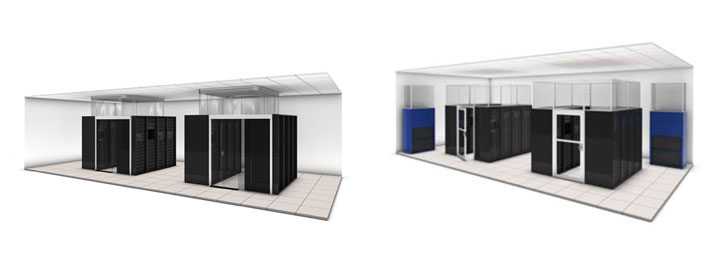 New Server Room Layout on Floor Layout Design