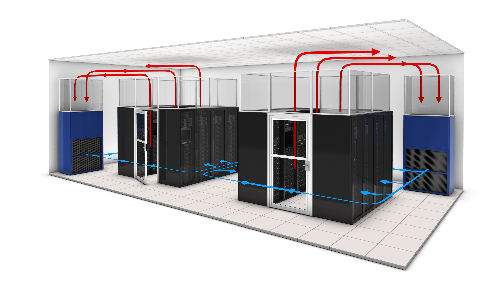 Air Flow Assessment Is The First Step In Creating Data Centers