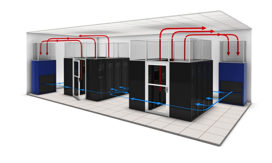 Data center air flow management systems