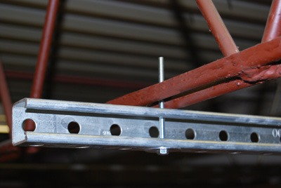 Unistrut joist for custom mounting system