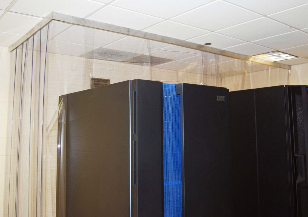 data center curtains aisle containment_FabraCraft